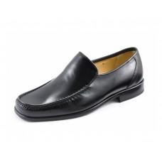 Loake Moccasin Style Siena Black Men Shoes