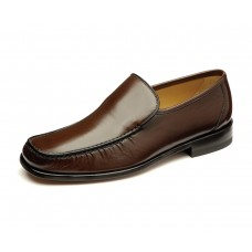 Loake Moccasin Style Siena Brown Men Shoes