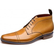 Loake Ankle Chukka Boot Style Spencer Tan Mens Shoes (7½)