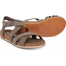 Timberland Malibu Waves Ankle Strap Ladies Sandals Canteen Greige
