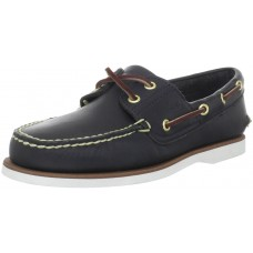 Timberland Classic 2 Eye Navy Mens Boat Deck Shoes (08)