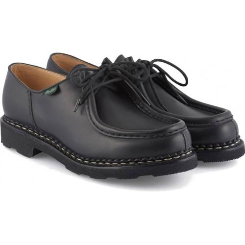 hot sale online 5e86d 1b6a8 Paraboot Michael Marche Black Leather Shoes