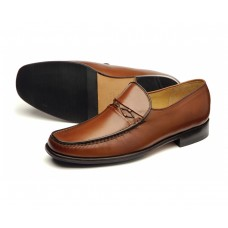 Loake Moccasin Style Turin Brown Mens Shoes