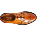 Barker Westfield Brogue Wingtip Style Cedar Calf Leather Mens Shoes