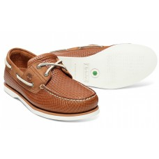 Timberland Classic 2 Eye Boat Deck Shoe Mens  Mid Brown (Tan) Full Grain