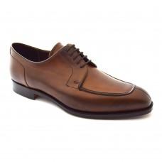 Barker Montrose Derby Moc Toe Style Walnut Calf Leather Mens Shoes (07½)