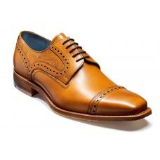 Barker Haig Cedar Calf/Paisley Laser Derby Style Shoes (11)