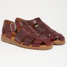 Paraboot Pacific Men's Leather Wine Sandals