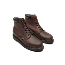 Paraboot Bergerac Nubuck Gringo Brown Men's Leather Boots