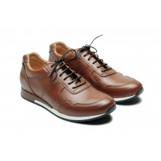 Paraboot Jeux Athle Mens Lis Gold Brown Trainers