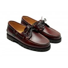 Paraboot Malo Lisse America Mens Leather Boat Shoes