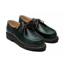 Paraboot Michael Griff Marron Lis Vert Green Womens Shoes