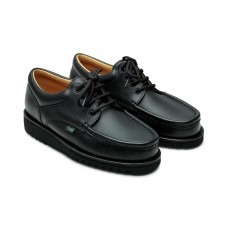 Paraboot Thiers Lisse Noir Black Mens Leather Derby Shoes