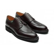 Paraboot Tournier/Galaxy Mocha Grain Leather Shoes